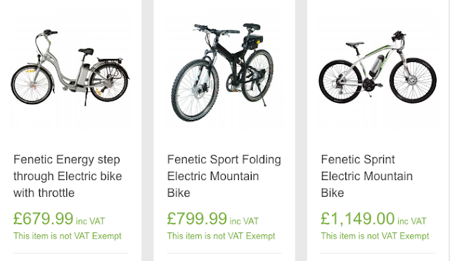 Selection of bikes