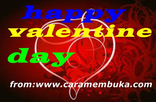 CARMUK-Cara mudah menguncapkan Happy valentine day Buat kita semua