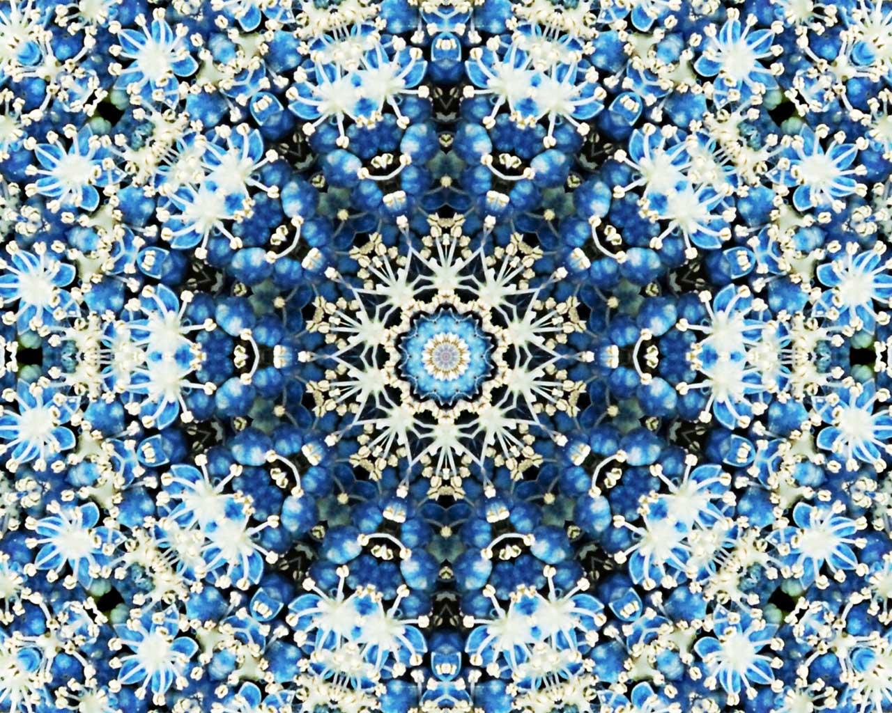 Kaleidoscope desktop free background by Jeanne Selep