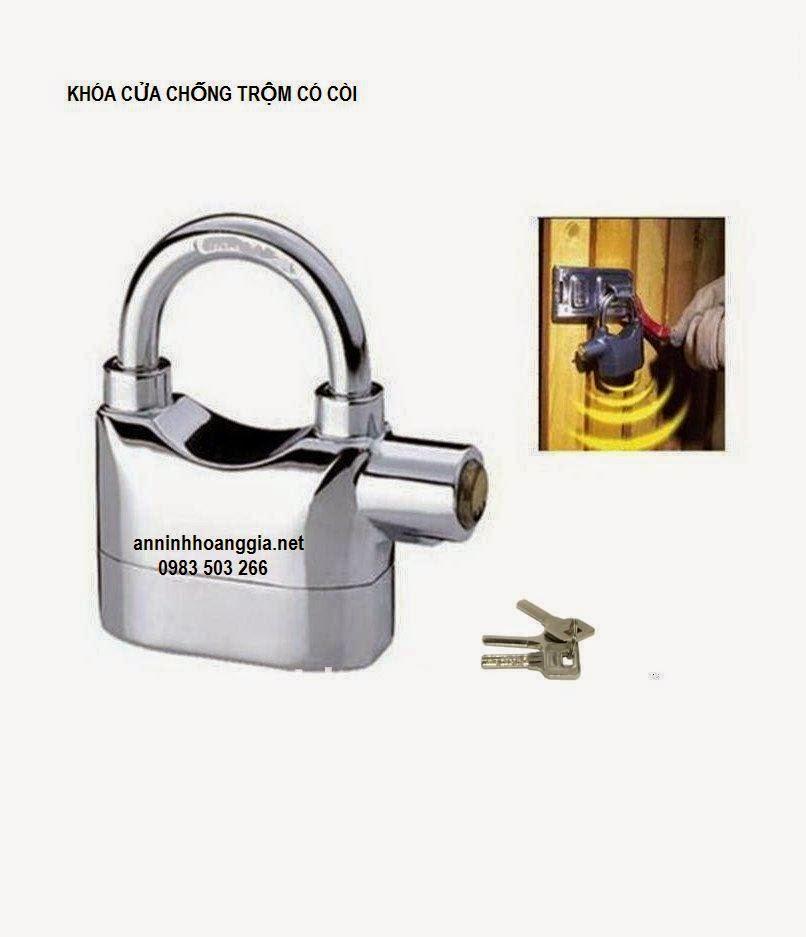 khóa cửa chống trộm ở Hải Phòng