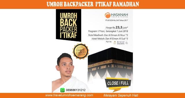 Umroh Itikaf Backpacker