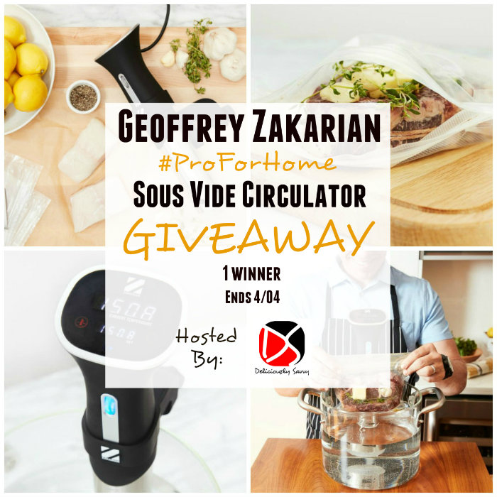 Geoffrey Zakarian Pro For Home Sous Vide Circulator