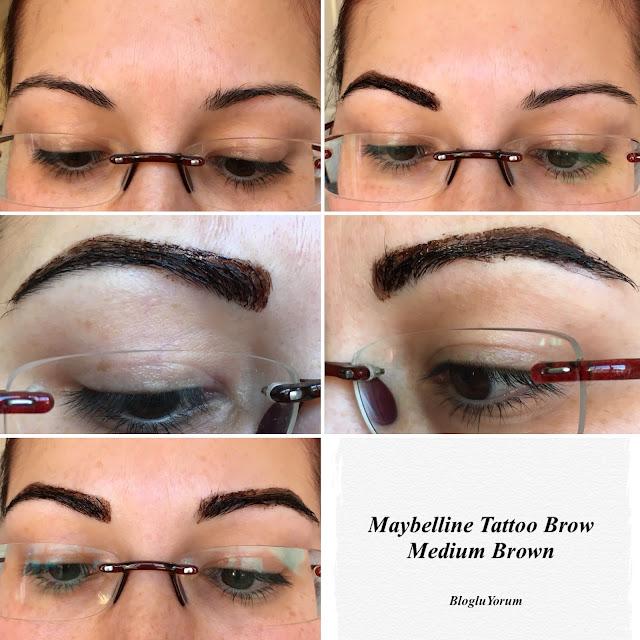 Maybelline tattoo brow gel tint medium brown ncelemes for Maybelline tattoo brow tint