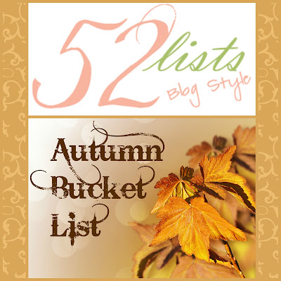 52 Lists #36 - Autumn Bucket List on Homeschool Coffee Break @ kympossibleblog.blogspot.com