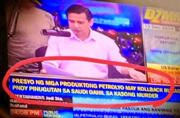 DZMM news headline blunder