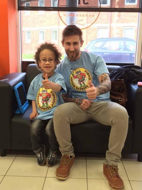 Barbero ayuda a niños con autismo y empieza otro proyecto