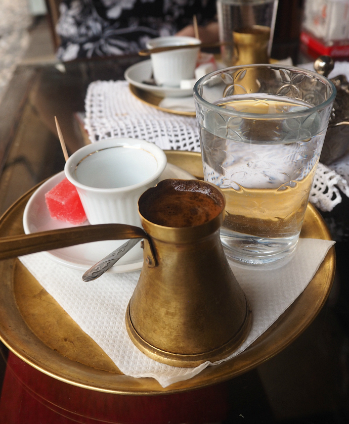 Traditional Bosnian coffee, Mostar