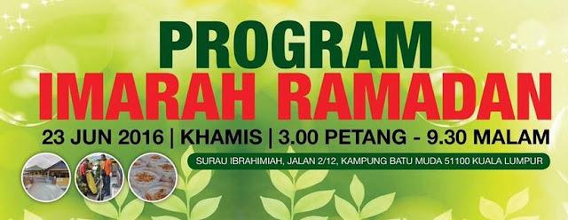 Program Imarah Ramadan