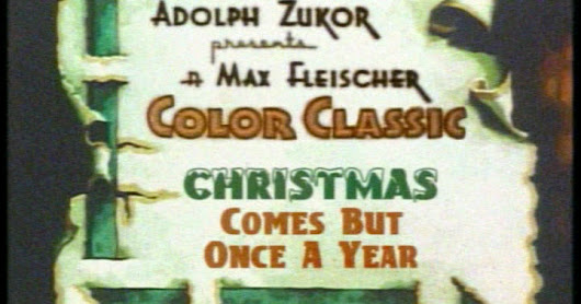 It's A Very Special Cel Bloc Xmas: Christmas Comes But Once A Year (1936)