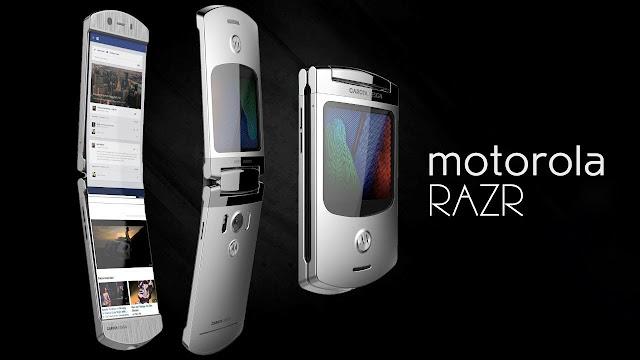 Kemasan Baru Produk lama Motorola RAZR dapat kembali sebagai ponsel cerdas Verizon