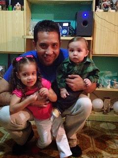 Papá y sus hijos