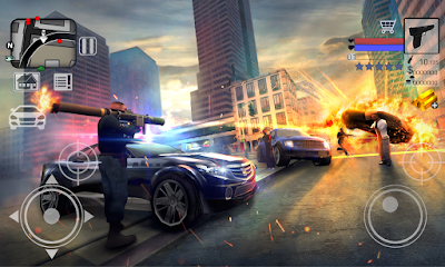 Police VS Gangster New York 3D MOD APK v1.2 Full Unlocked & Unlimited Money for Android Terbaru 2017