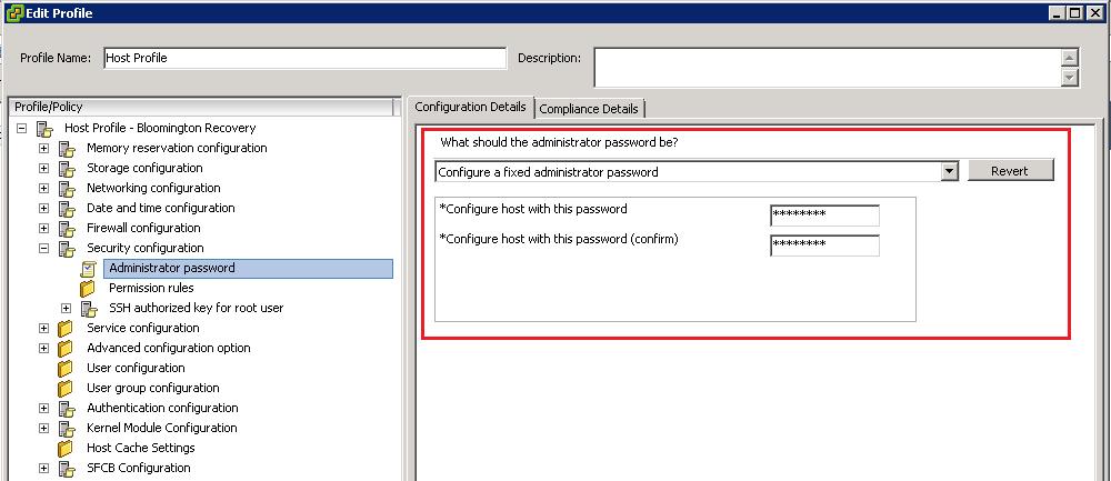 ESXi Password reset - Host Profile The Life Saver | TechCrumble