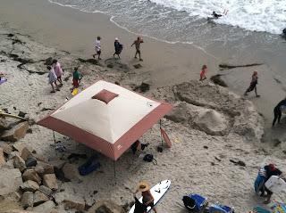 beach camping San Elijo