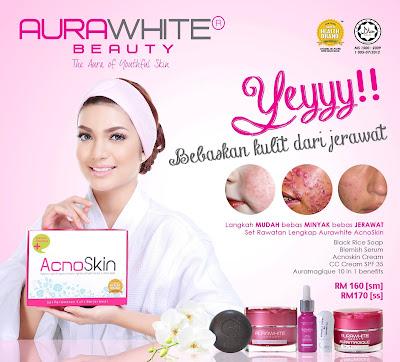 Image result for aurawhite acnoskin