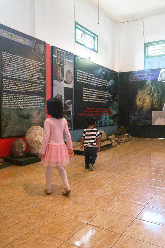 pameran kapal karam museum tanjung pandan belitung