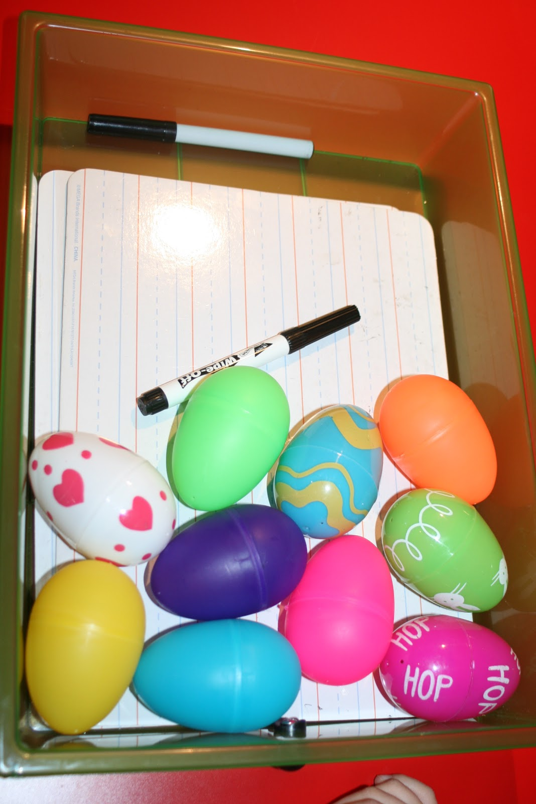 Homeschooling Garden Old Easter Eggs Numbers Addition And Number Recognition