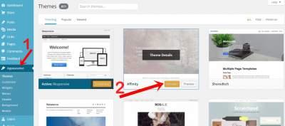 cara mengganti template blog wordpress gratis dan berbayar