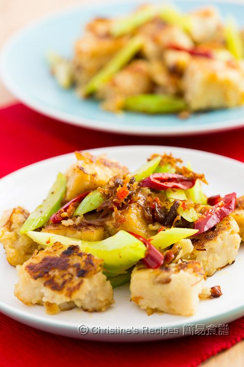 XO 醬炒蘿蔔糕 Pan-fried Radish Cake with XO Sauce03