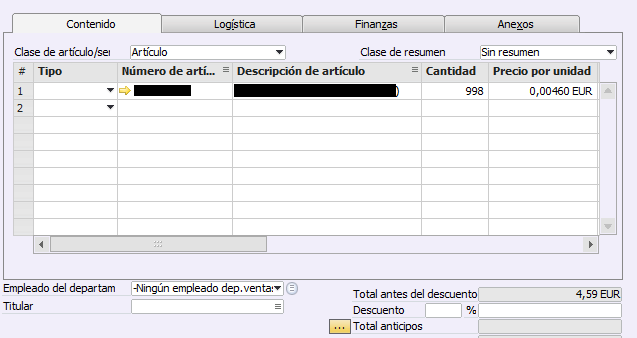 Configurar Decimales en Business One - Consultoria-SAP