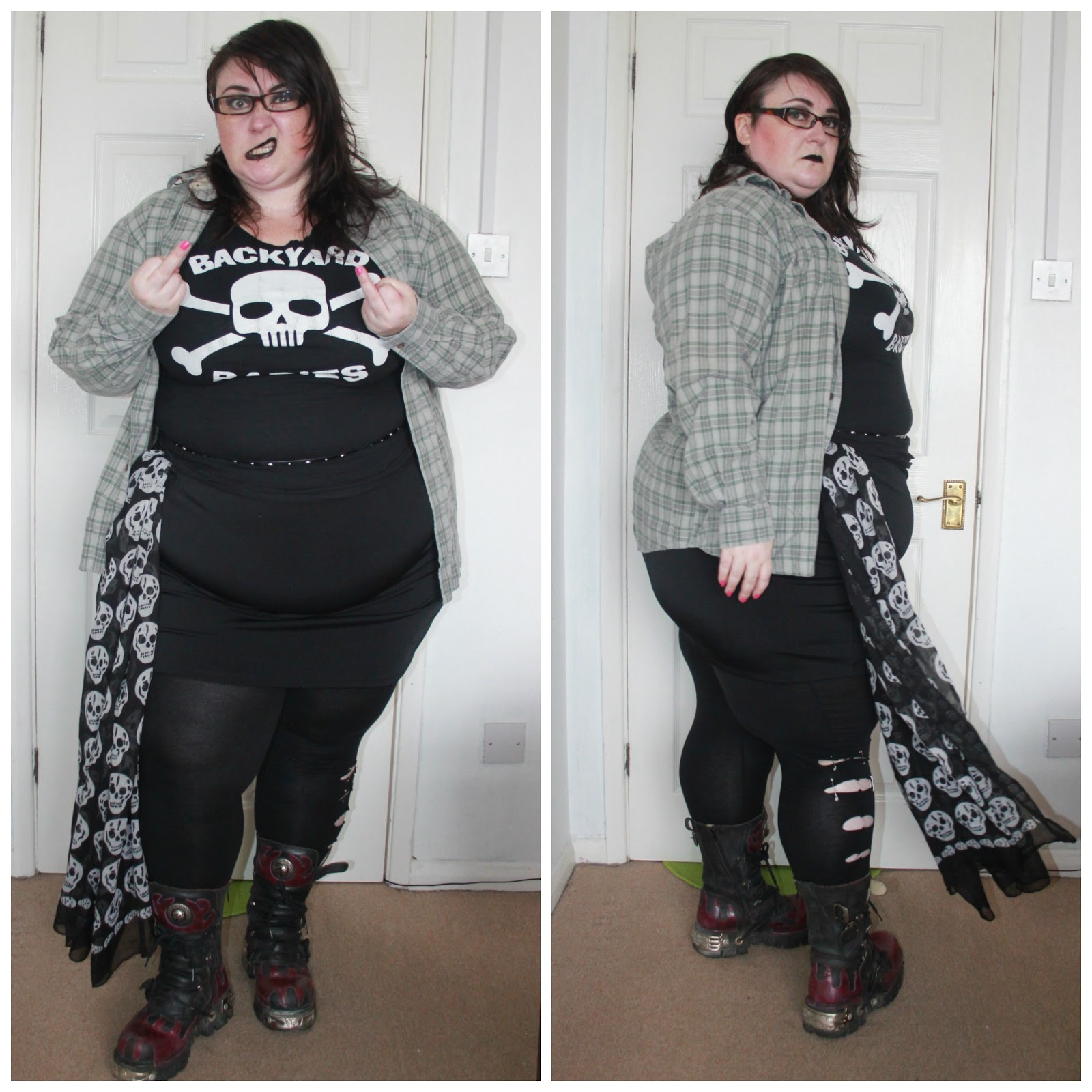 Style It Saturday #1 - Pretty and Punk - Love Leah