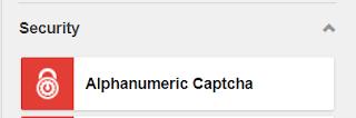 Alphanumeric Captcha