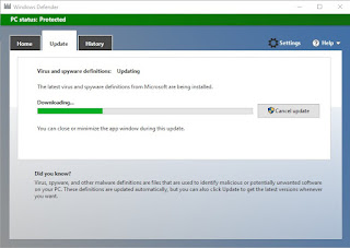 Windows Defender Pada Windows Original