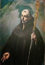 Idle Speculations Saint Benedict Of Nursia El Greco