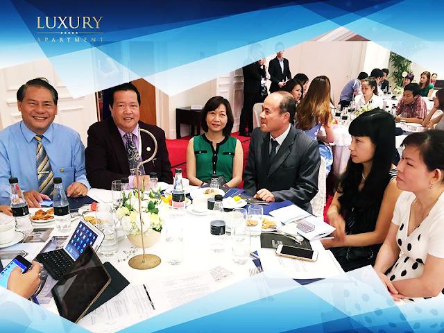 Địa ốc Nhà Vuông mở bán thành công dự án Luxury Apartment