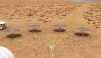 Reaktor Nuklir Mini Bisa Digunakan di Mars