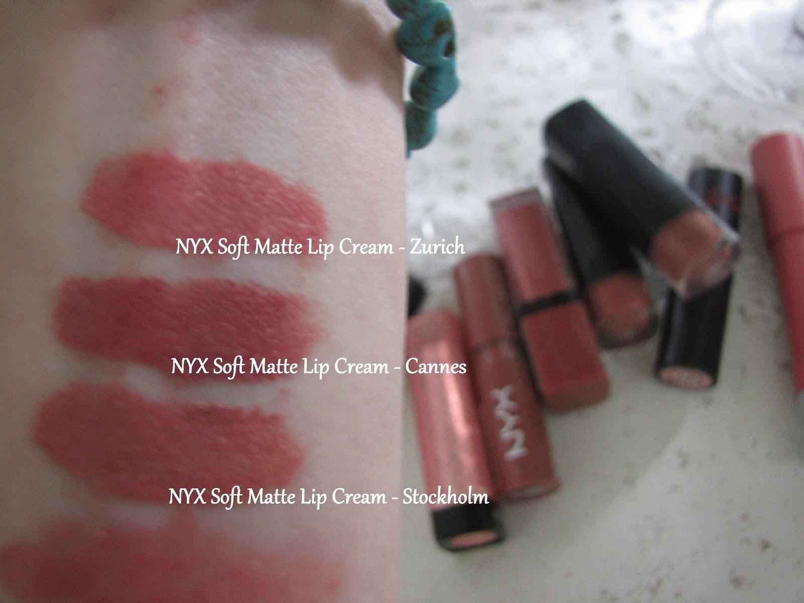 Nyx Soft Matte Lip Cream Stockholm Swatch | Ownerlip.co