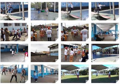 Escola da Família da Escola Yolanda realiza Agita Família com diversas atividades esportivas e culturais