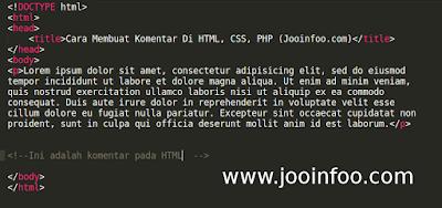 http://www.jooinfoo.com/2018/06/cara-membuat-komentar-html-css-js-php-sql.html