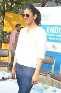 Actress Rakul Preet Singh at Endometriosis Awareness Walk at Apollo Cradle  0040.jpg