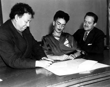 5 December 1940 worldwartwo.filminspector.com Diego Rivera Frida Kahlo