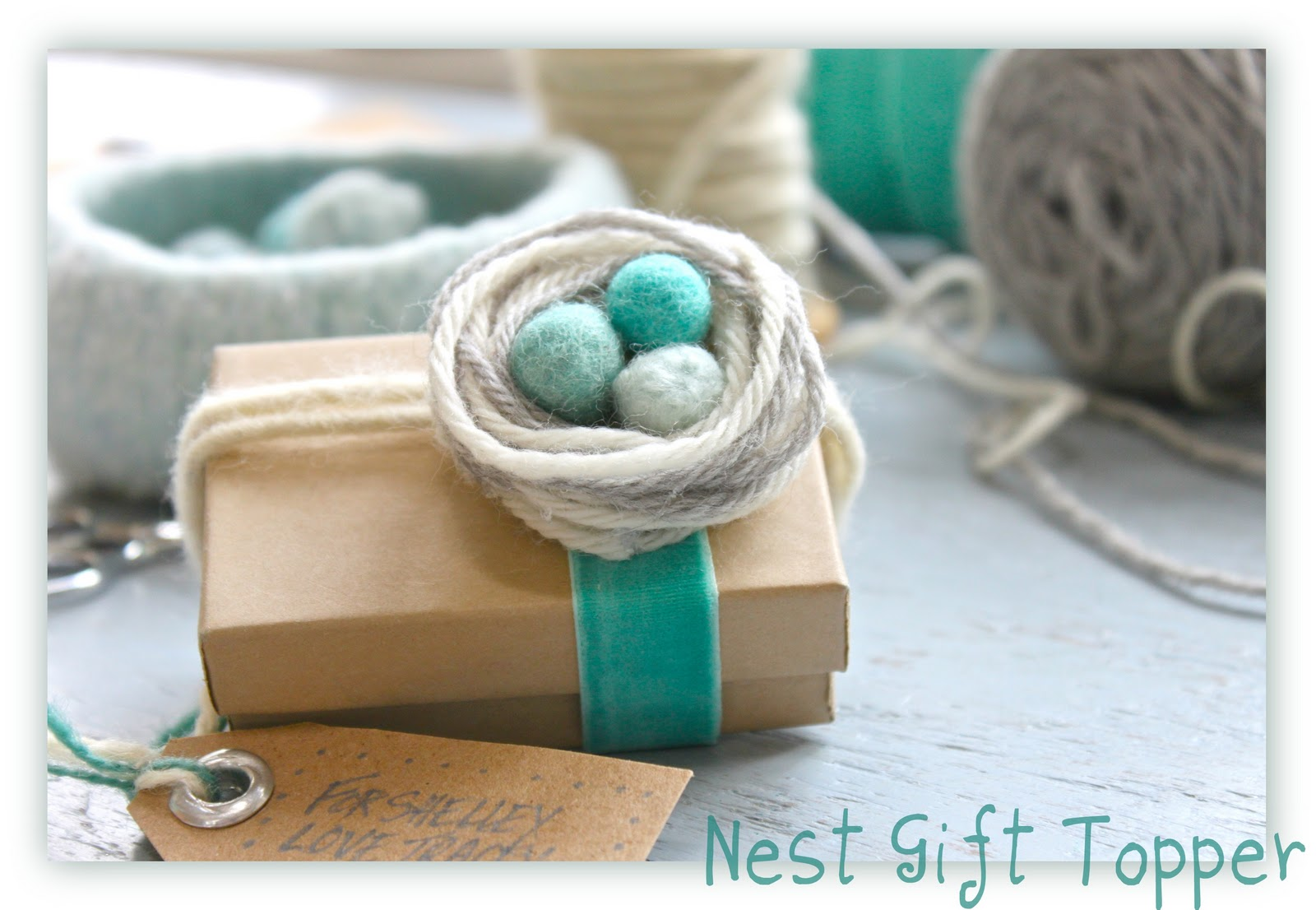 Helana And Ali Wrap It Up Thursday Nest Of Yarn Gift