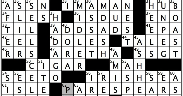 Rex Parker Does The Nyt Crossword Puzzle Bond Girl Adams
