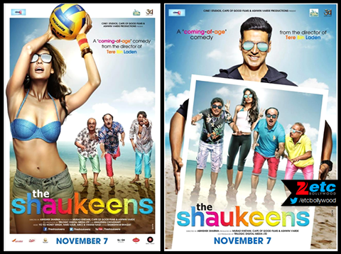 Official poster of Akshay Kumar's upcoming movie The Shaukeens