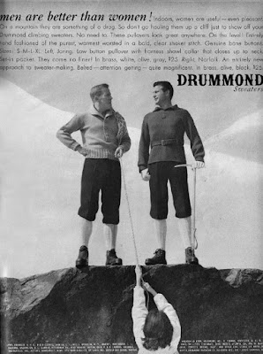 Drummond Sweaters -- Men are better than women