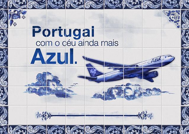 Azul inicia vendas de passagens para Lisboa