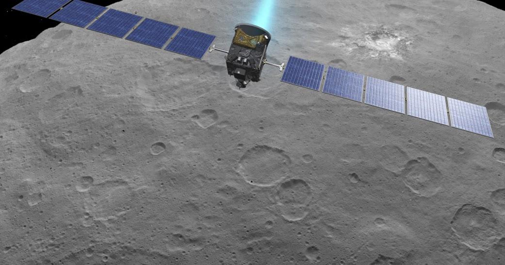 Trasloco in vista per Dawn: rotta verso una nuova orbita attorno a Cerere