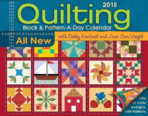 2015 Quilting Block & Pattern-A-Day Calendar Review