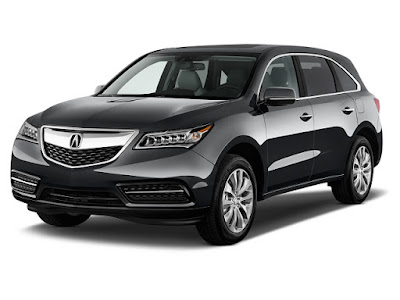 2016 Acura MDX luxury crossover Hd Image