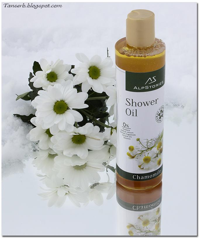 Масло для душа Ромашка AlpstoriesShower Oil Chamomile