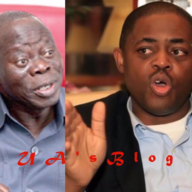 Gorilla Osho, who is ur father' – Fani-Kayode Asks Oshiomhole