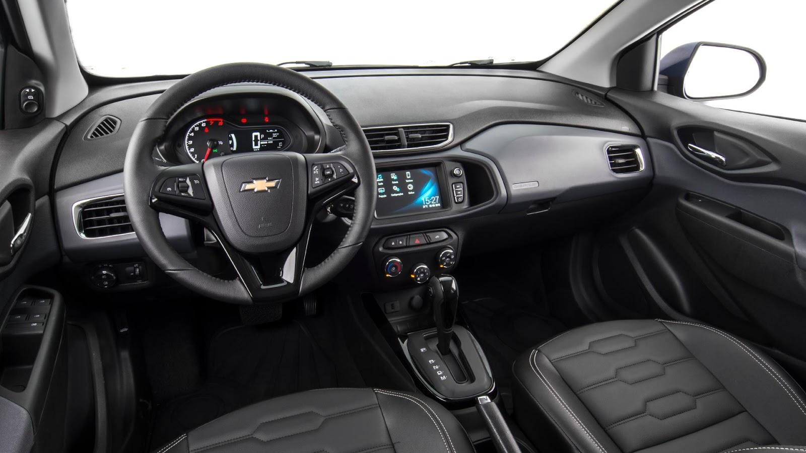 Confira o que muda na linha 2019 de Chevrolet Onix e Prisma