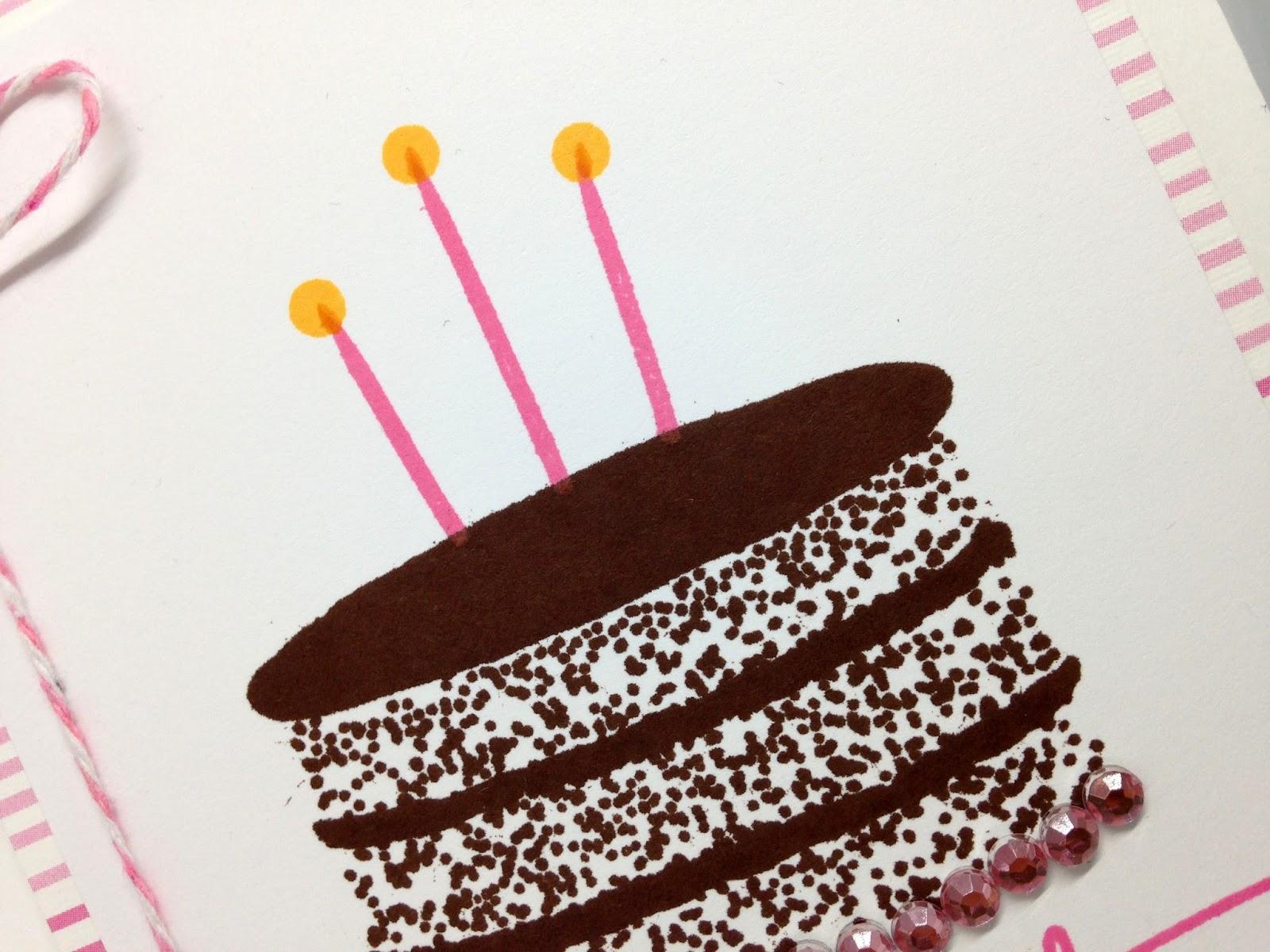 Cupcakes Cards and Kim Happy Birthday Joyce