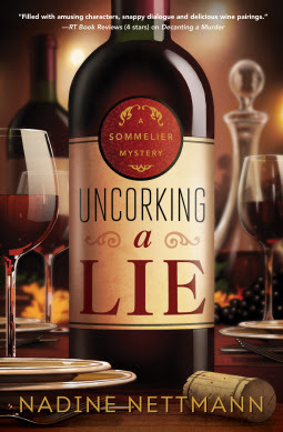 Bea's Book Nook, Review, Giveaway, Uncorking a Lie, Nadine Nettmann