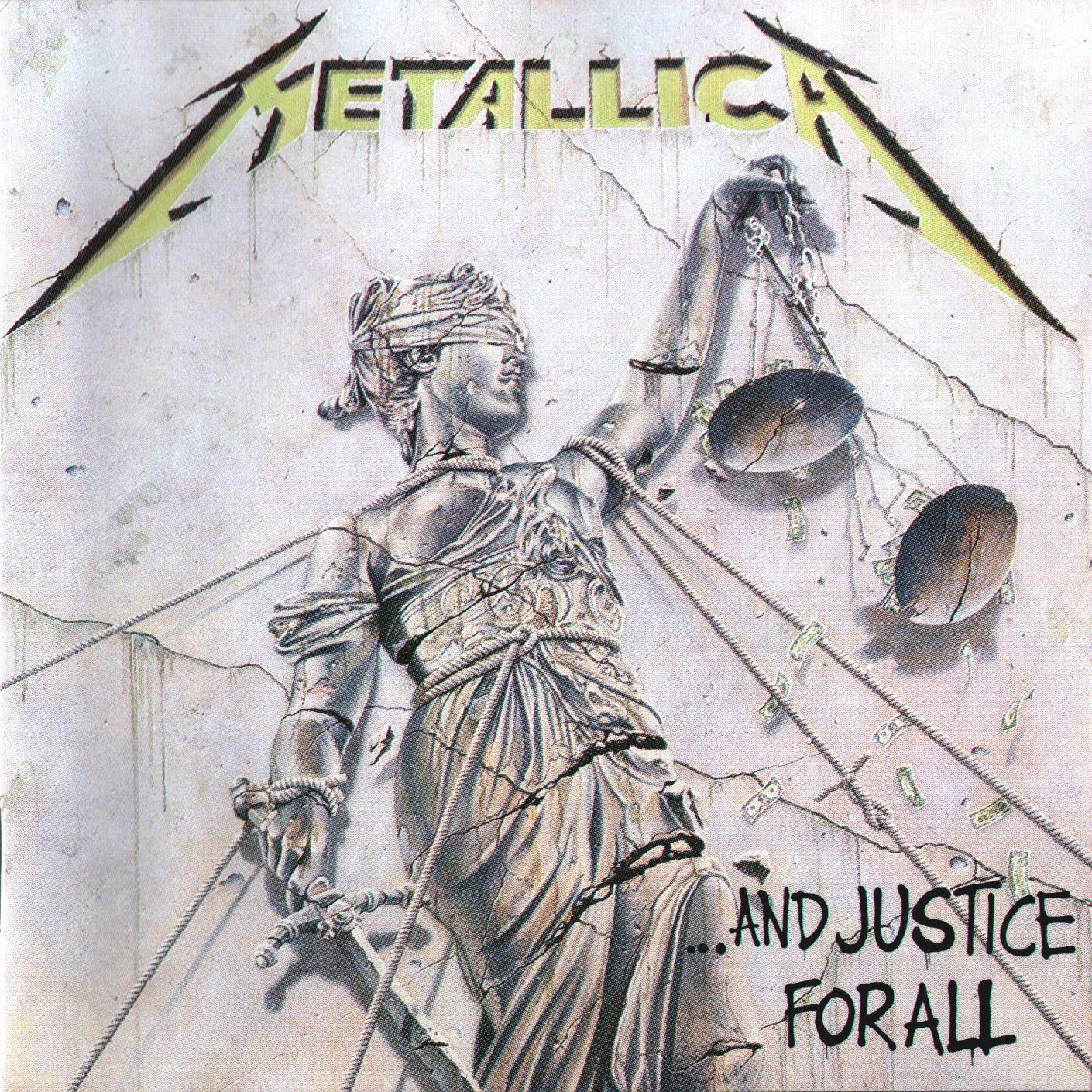 leaky music metallica and justice for all 1988