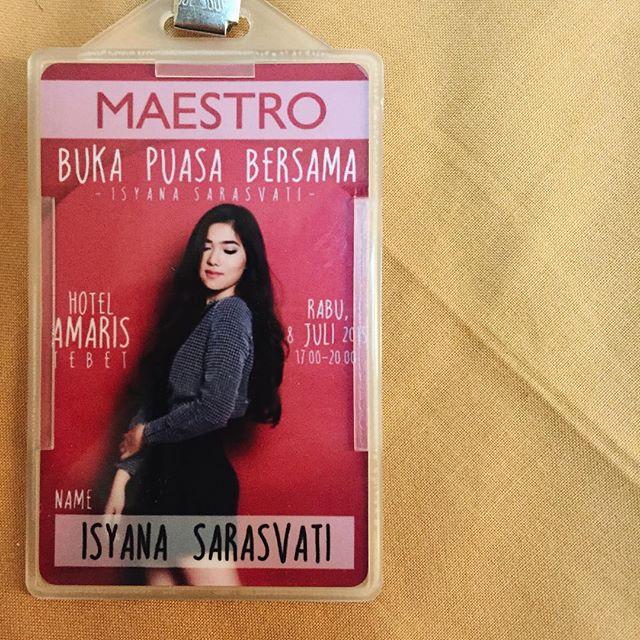 Biodata dan Profil Artis Isyana Sarasvati